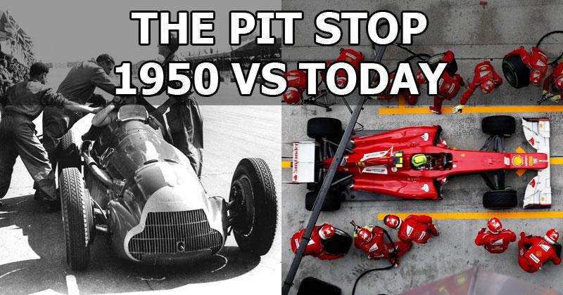 Formula 1 Pit Stops 1950 & Today – SportVideos.TV