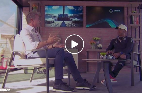 David Coulthard sits down with Lewis Hamilton for an in-depth chat