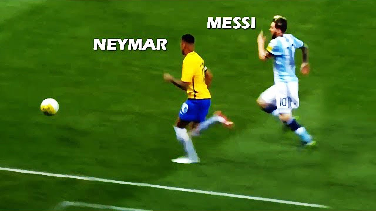 Lionel Messi Vs Neymar Jr ● CRAZY Speed & Acceleration Show