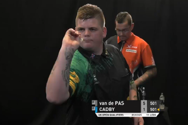 Corey Cadby Had Perfect Comeback After Being 1-5 Down