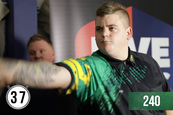 Corey Cadby Breaks World Record For Highest Darts Score