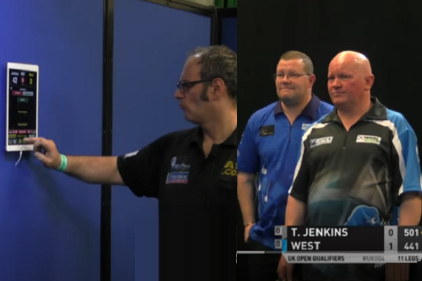 Incident During UK Open Qualifier Match Terry Jenkins vs Steve West