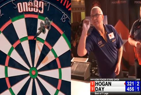 Paul Hogan Averaging Amazing 117.21 At Isle of Man Open