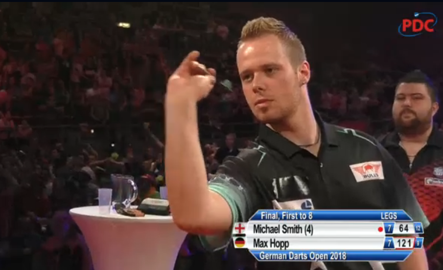 Max Hopp Wins German Darts Open With Massive Checkout