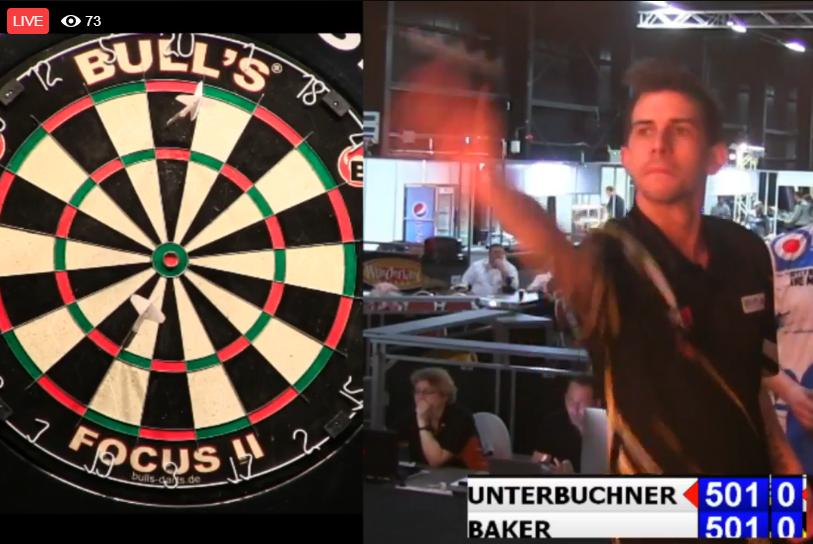 German Darts Masters Won By Scott Baker And Aileen de Graaf