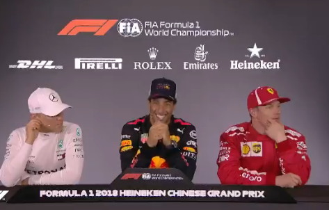 Daniel Ricciardo Had Another Hilarious Press Conference
