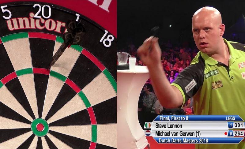 Watch Dutch Darts Masters 2018 Final: Van Gerwen vs Lennon