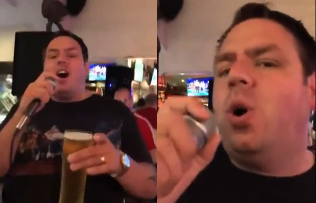 Adrian Lewis Shows Off His Karaoke Skills in Gibraltar