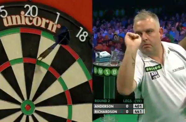 James Richardson Hits Worst Leg Ever Seen At PDC Tournament