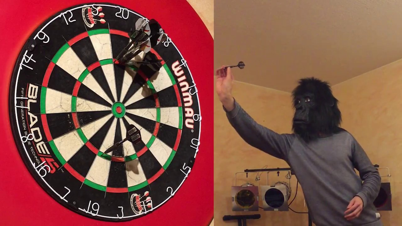 Incredible 9 Darter Shot In Only One Throw