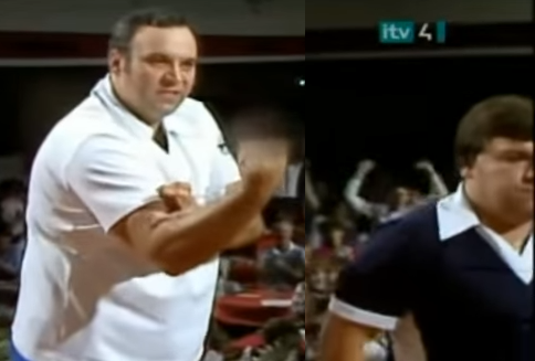 Jocky Wilson and Cliff Lazarenko Incident At World Matchplay