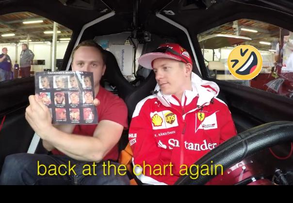 That Moment When Kimi Raikkonen Disses Your Ride