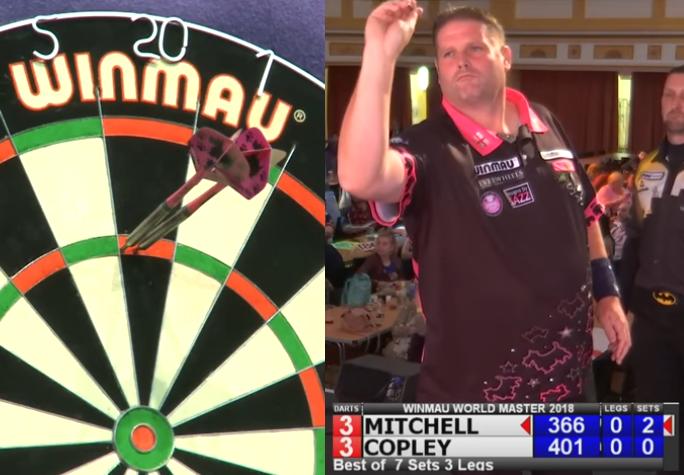 Watch Scott Mitchell Hits 109,00 Average At Winmau World Masters
