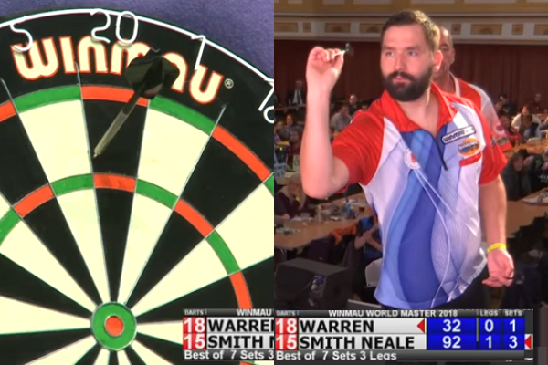 Smith-Neale Hits Double Double Checkout To Win Quarter Final Winmau