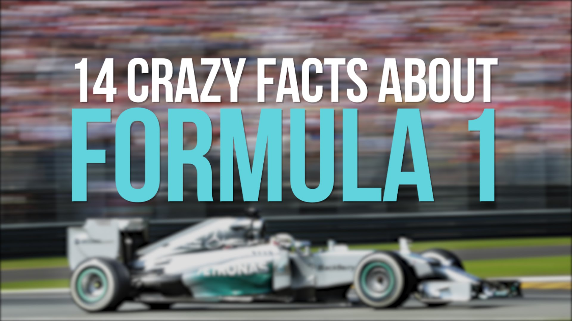 14 Crazy Facts About Formula 1