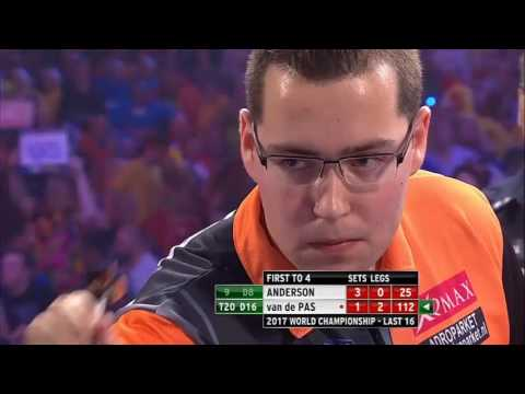 PDC World Darts Championship 2017 – All the high finishes day 11