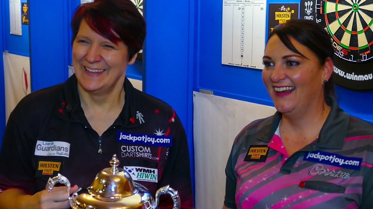 Lisa Ashton & Corrine Hammond enjoyed the Ladies World Championship final