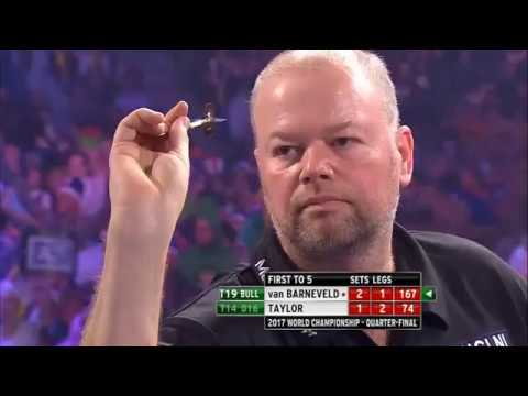 PDC World Darts Championship 2017 – All the high finishes day 13