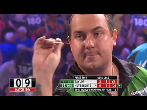 PDC World Darts Championship 2017 – All the high finishes day 12