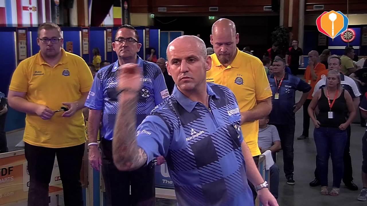 WDF Europe Cup Darts 2016 – Sweden-Scotland (Men's Pairs)