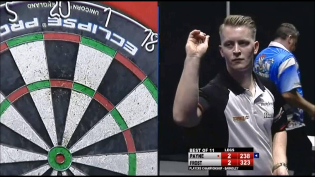 Josh Payne vs Mark Frost – 2016 Players Championship #19