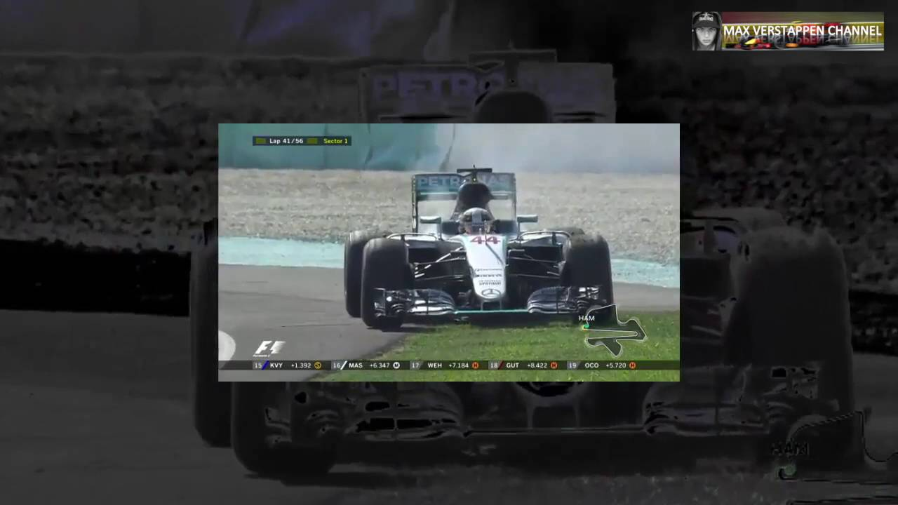 F1 2016 GP Malaysia Official Race Highlights Spectacular!! Eng