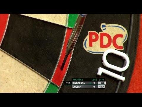 Gary Anderson new darts – 2016 World Series of Darts Finals ...