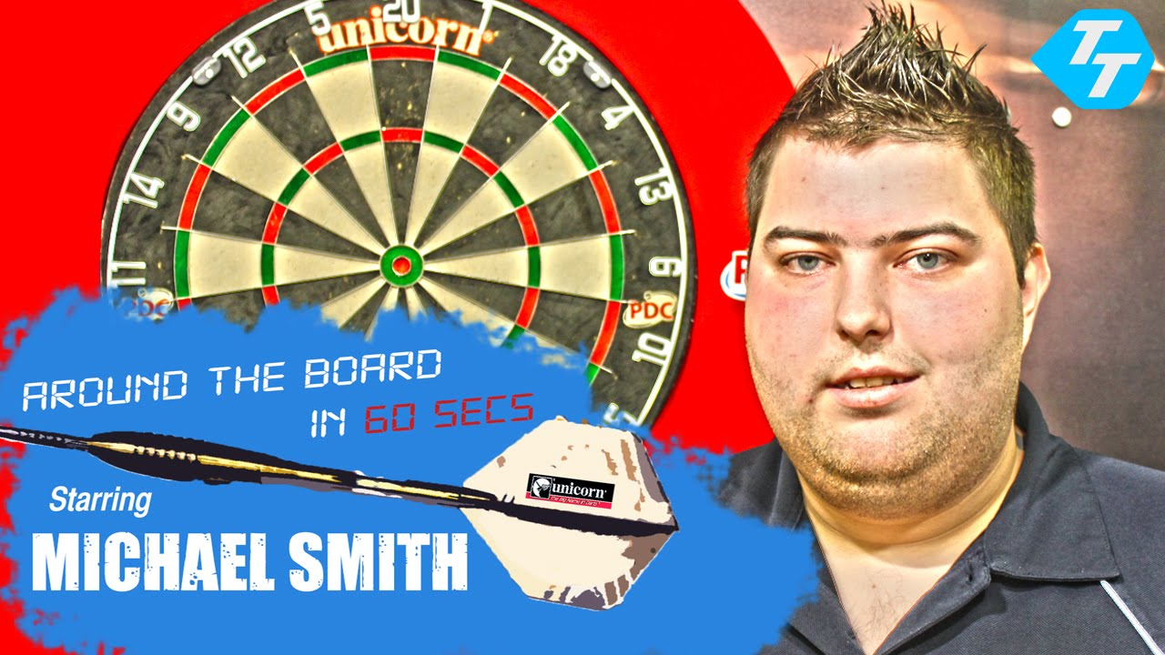 Michael Smith – Around The Board In 60 Seconds