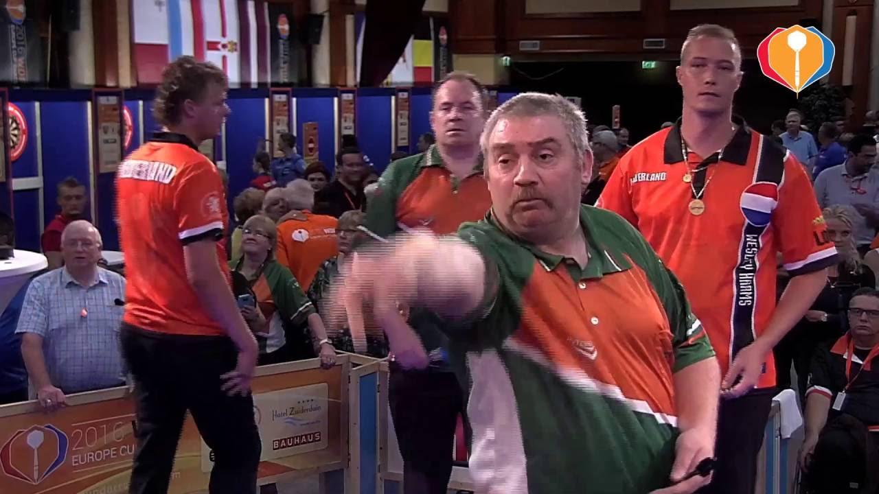 WDF Europe Cup Darts 2016 – Netherlands-Ireland (Men's Pairs)