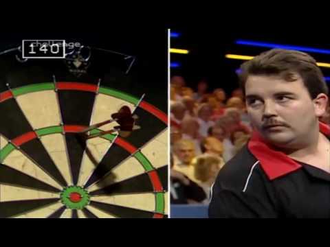 Phil Taylor's First appearance on Bullseye (1990)
