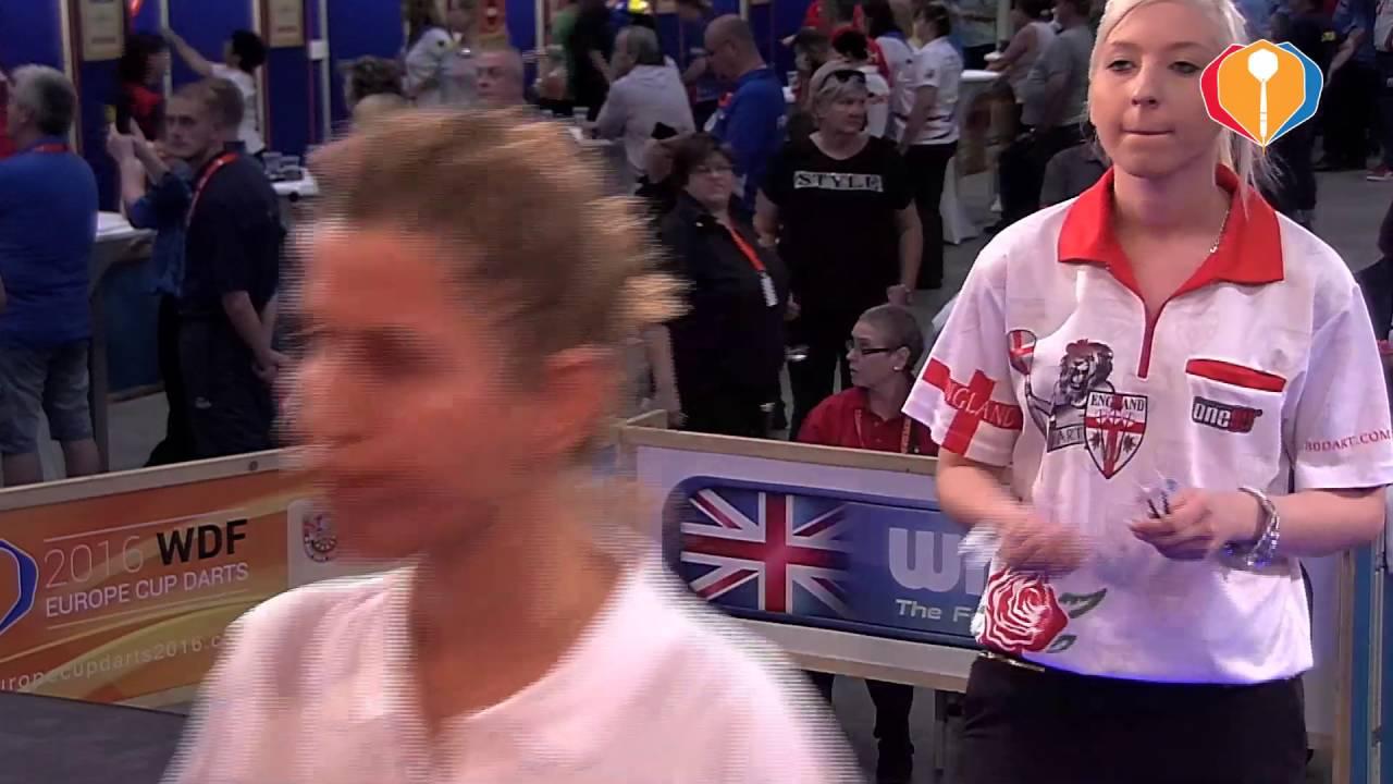 WDF Europe Cup Darts 2016 – England-Greece (Women's Singles)