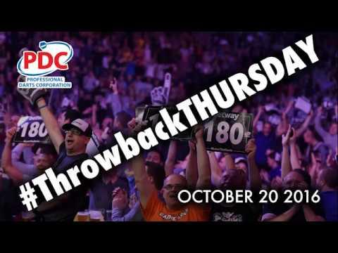 #ThrowbackThursday – James Wade nine-darter at the 2008 Grand Slam of Darts