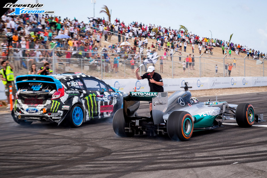 Watch Top Gear Live Battle: Lewis Hamilton vs Ken Block
