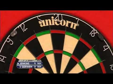 9 Dart Finish – Michael van Gerwen vs Terry Jenkins – 2013 Championship League Darts