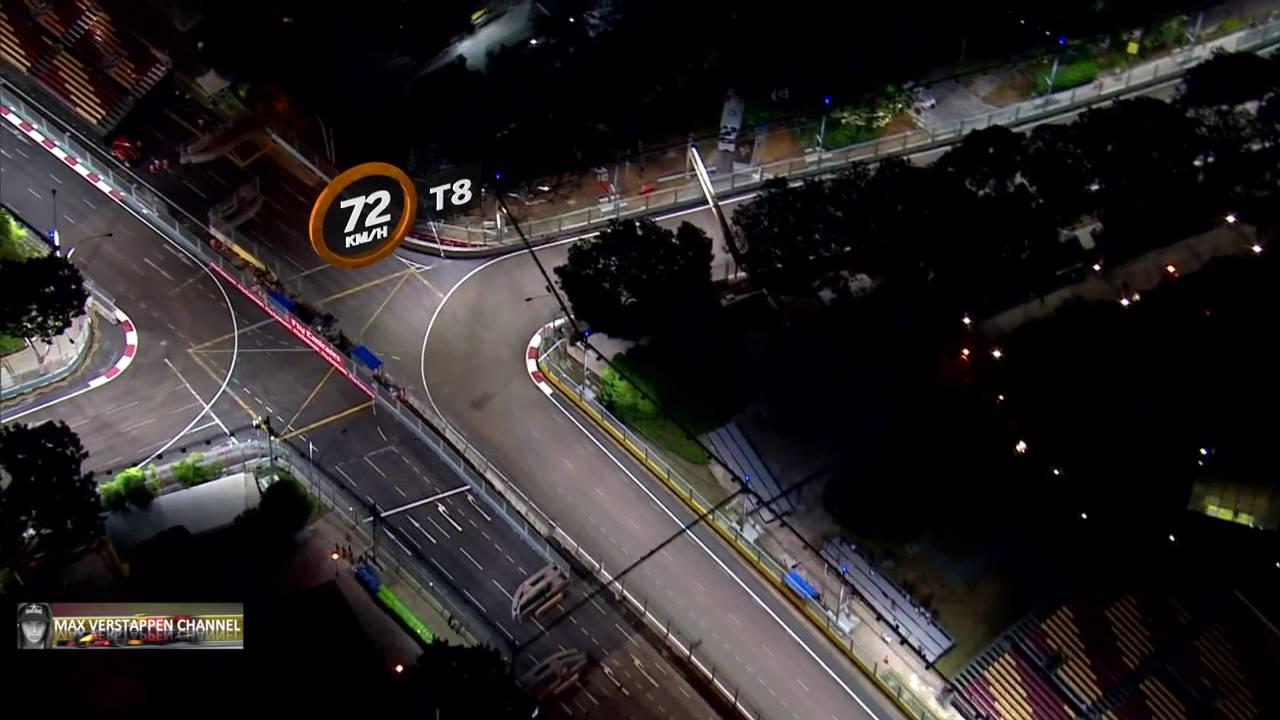 F1 2016 Singapore GP: A closer Look at Marina Bay Street Circuit HD