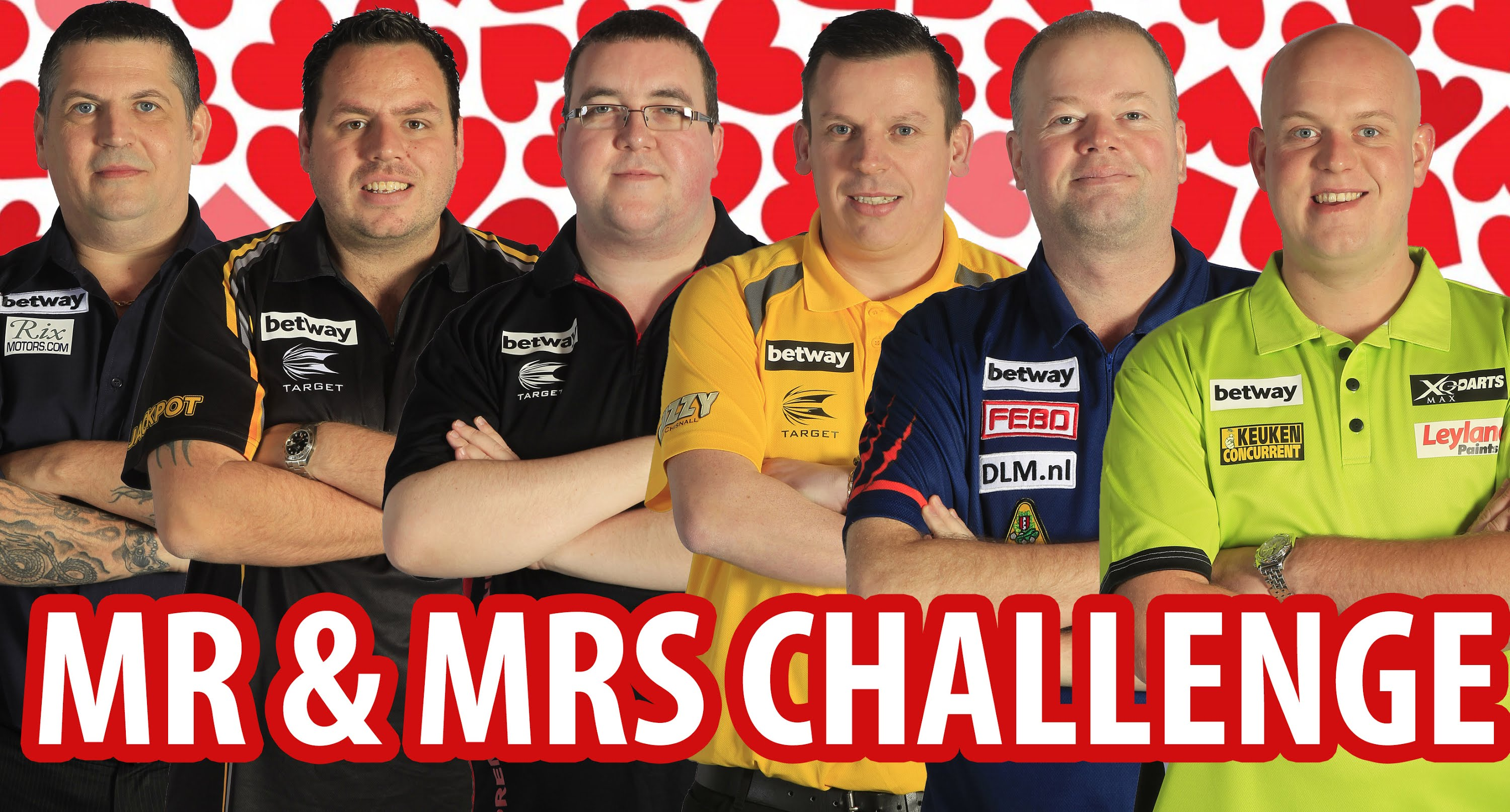 Mr & Mrs Challenge With The Stars Of Darts