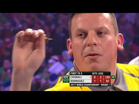 PDC World Darts Championship 2017 – All the high finishes day 8