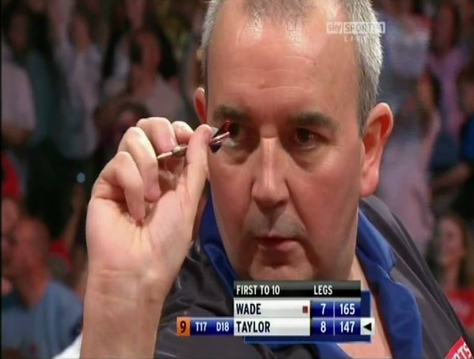Phil Taylor- Almost 3 x Nine Darters in One Match