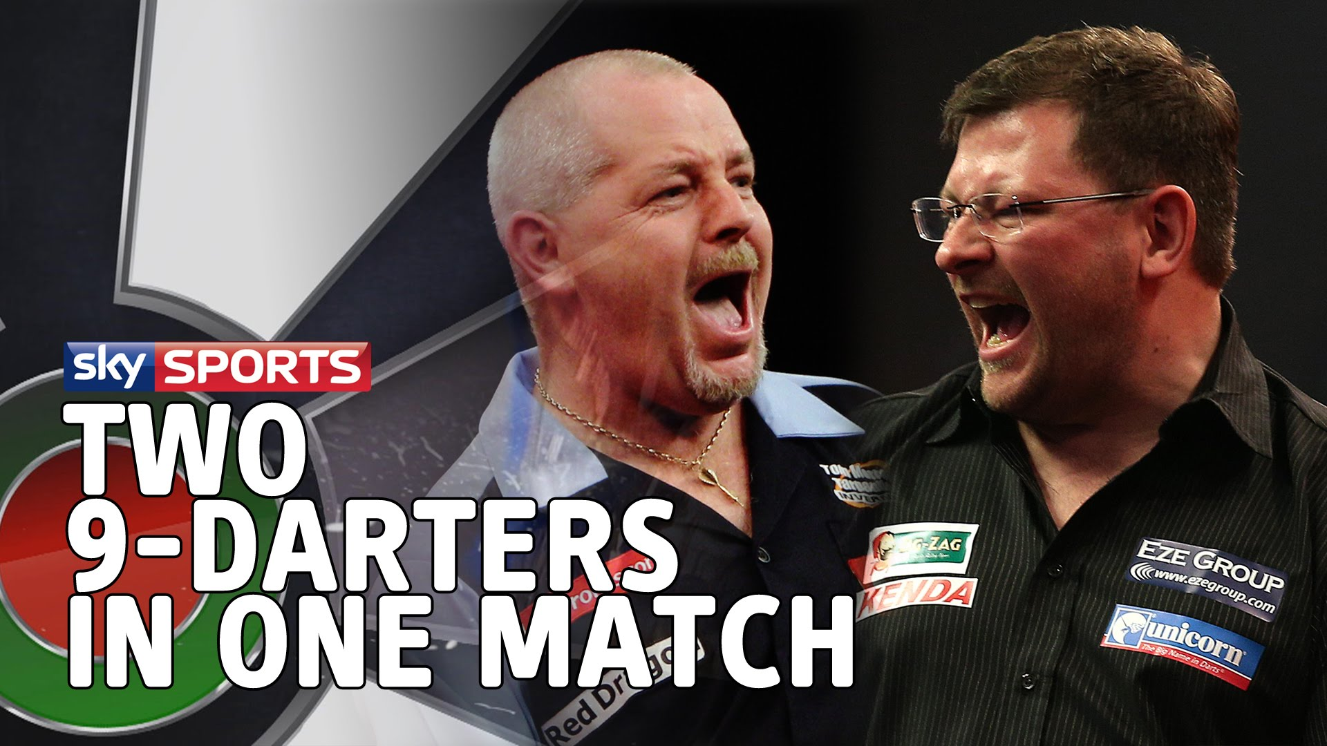 Two 9-darters in One Match with James Wade and Robert Thornton