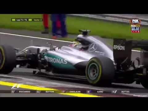 F1 Hamilton vs Rosberg Austria 2016 july LAST LAP.