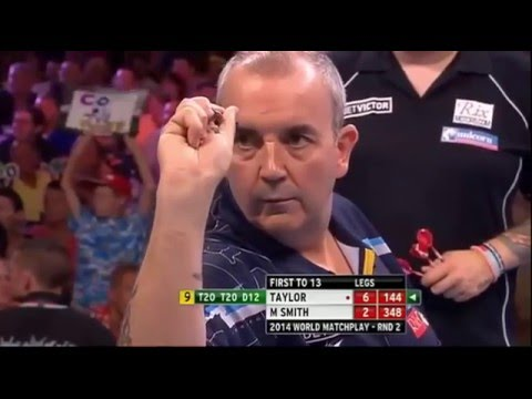 Phil Taylor – All Televised Nine Dart Finishes