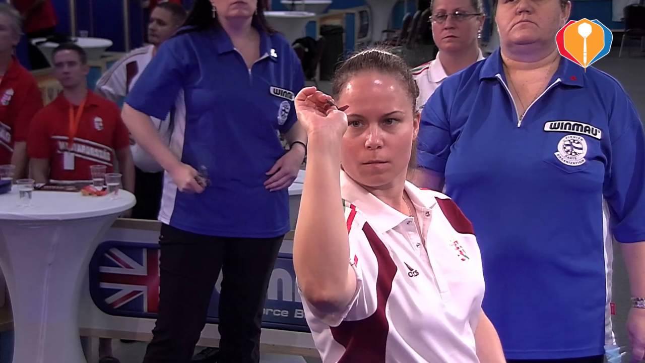 WDF Europe Cup Darts 2016 – Finland-Hungary (Women's Pairs)