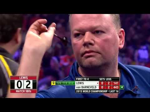 9 Dart Finish – Adrian Lewis against Raymond van Barneveld – World Championship – 30 December 2014
