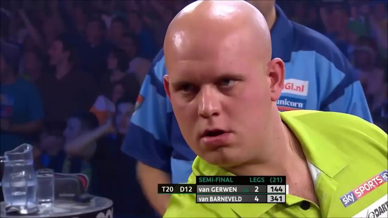 Michael van Gerwen All Career 9-Dart Finishes HD
