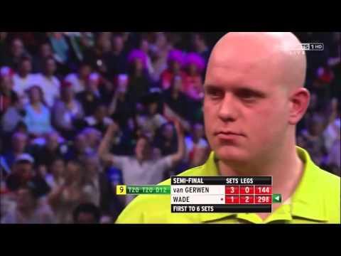 9 Dart Finish – Michael van Gerwen against James Wade – PDC World Championship – 30 December 2012