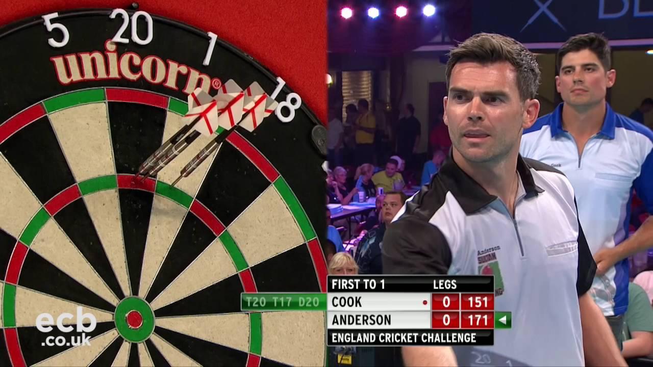 World Darts Championship – Alastair Cook v James Anderson