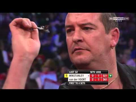 9 Dart Finish – Dean Winstanley against Vincent van der Voort – PDC World Championship – 23.12.2012