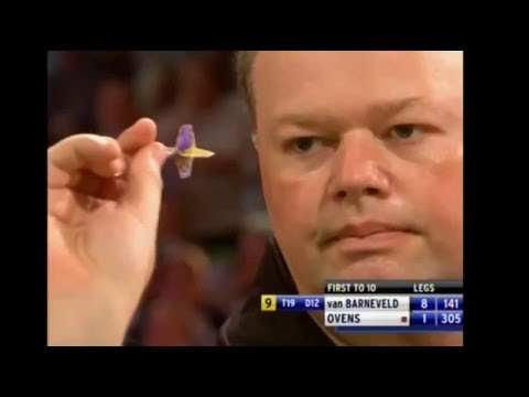 9 Dart Finish – Raymond van Barneveld against Denis Ovens – World Matchplay – 17 July 2010