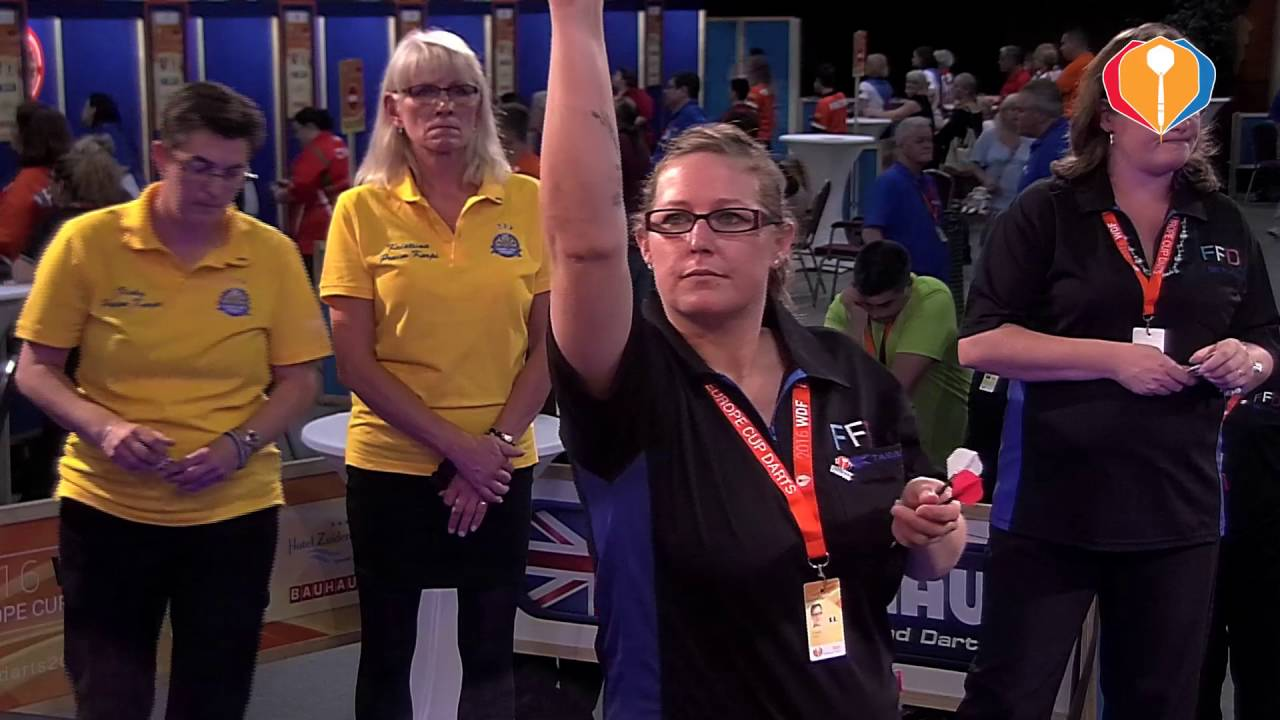 WDF Europe Cup Darts 2016 – France-Sweden (Women's Pairs)