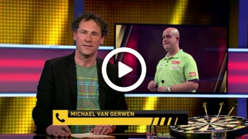 """Michael van Gerwen aan de telefoon: """"Het gaat steeds beter"""""""